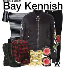 Inspired by Vanessa Marano as Bay Kennish on Switched At Birth