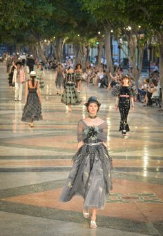 Chanel Resort 2017 - Chanel Cruise 2017 - HarpersBAZAAR.co.uk ~ Lovely...odd to realize how much relationships can change seemingly overnight ~