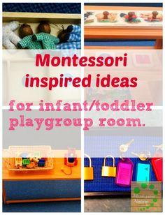 Montessori Nature: Montessori inspired ideas for infant/toddler playgroup.