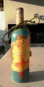 Decoupage Bottles by Carlos Rossi : Junho 2016