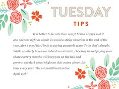 Another tax strategy tip from Bloom to you! http://www.everythingbloom.com/tuesday-tips-152-%C2%B7-tax-strategies