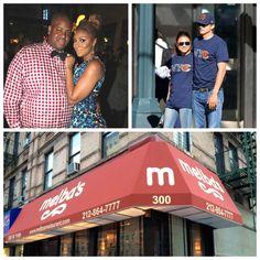 Ashton Kutcher spotted in Harlem at Melba's Restaurant. Also Tamar & Vince.