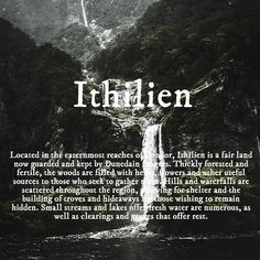 Ithilien One of my favourite Middle-earth locations.
