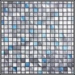 #Interior Unique aluminum and stainless steel mosaic tile designs for your kitchen backsplash and bathroom walls >> mosaic tile --> http://infinitemosaictile.com