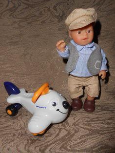 My mini baby born mit  bobby plane  von BIG