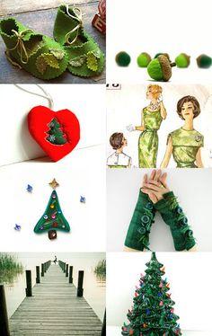 I Love Christmas Greens @Homespun Society