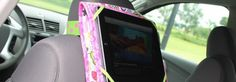 how to sew ipad case for the car by nancy