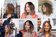 Aimee Song ombré/short hair <3