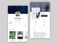 Bookmate App by Den Waras