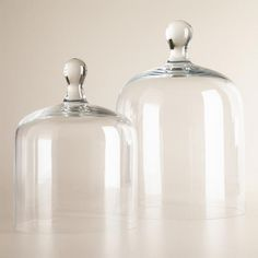 One of my favorite discoveries at WorldMarket.com: Glass Cloche
