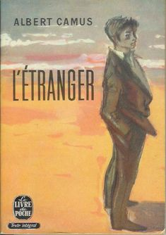 """""""l'étranger"""" (""""the outsider"""") by albert camus is light in page number by heavy in subject matter. The Stranger Albert Camus, Fall Inspiration, Books To Read, My Books, Teaching Literature, Tv Tropes, Best Novels, Learn French, Book Authors"""