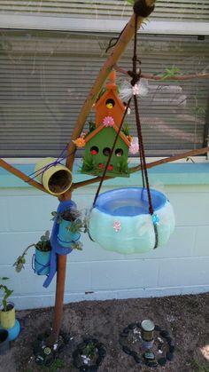 Esta otra idea para un pequeño jardín, y que los pichones lo disfrute, estate compartiendo con todos, mande su opinión y más ideas