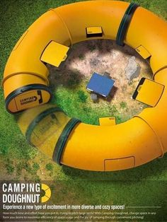 Camping Doughnut Camping Tent #CampingTents #CampingTents101 #camping101