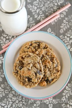 Delicious Flour Free Oatmeal Cookies