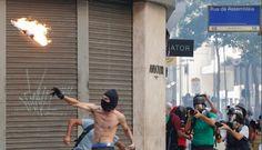 JORNAL O RESUMO: Protesto no Rio de Janeiro. Veja algumas fotos