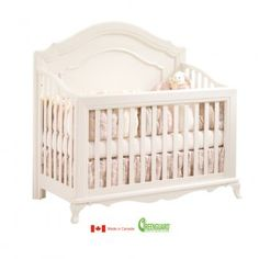 Natart's Paris Convertible Crib - Outrageously high quality and just beautiful.  Hopefully, baby girl can use it for years!