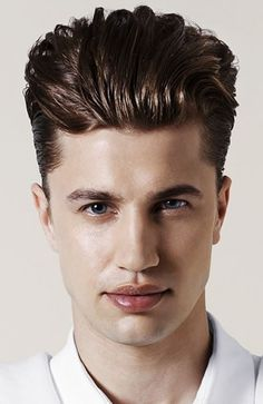 33 Dope Pompadour Hairstyles: Undercuts, Japanese Cuts Fades Elvis was the King of the and and today is pompadour hairstyle is King again. Guys are rocking the pompadour combined with a wicked fade to Mens Hairstyles Pompadour, Pompadour Fade, Cool Braid Hairstyles, Bandana Hairstyles, Undercut Hairstyles, Men Undercut, Wedding Hairstyles, Natural Hair Men, Wavy Hair Men