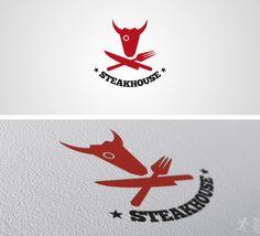 DOA Steakhouse Logo Template