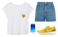 """""""Sin título #3987"""" by mdmsb on Polyvore featuring moda, MANGO, Madewell, NIKE y New Look"""