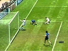 DIEGO ARMANDO MARADONA IN ARGENTINA-INGHILTERRA DEL 1986: IL GOL PIU' BE...