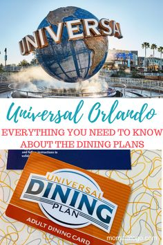 Universal Orlando Dining Plans - Everything you need to know | Universal Studios Florida Dining Plan | Universal Quick Service Plan | Universal Full Service Dining Plan | Universal Orlando Florida Vacation | Where to eat at Universal Orlando Florida | Universal Orlando Dining Plan Tips | Universal Orlando Dining Plan Snack | Is the Universal Dining Plan Wort it | Theme Park Vacation #Orlando #Universal #UniversalOrlando Florida Theme Parks, Florida Vacation, Florida Travel, Usa Travel, Travel Tips, Theme Park Essentials, Travel With Kids, Family Travel, Universal Orlando Florida