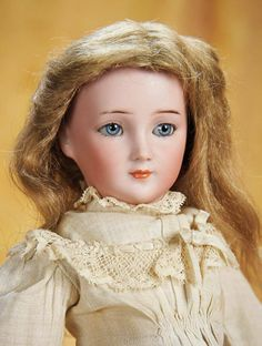 Beautiful German Bisque Lady Doll, 1469, by Simon and Halbig 1100/1600
