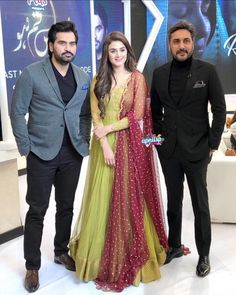 Awesome Pictures from Special Show with the Cast of Meray Pass Tum Ho Shadi Dresses, Eid Dresses, Party Wear Dresses, Bridal Dresses, Fashion Dresses, Long Dresses, Simple Pakistani Dresses, Pakistani Dress Design, Simple Anarkali