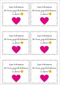 Anneler gunu etiket Worksheets For Kids, Mother And Father, Pre School, Fathers Day, Alphabet, Kindergarten, Playing Cards, Girly, Birthday