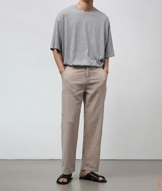 Tall Men Fashion, Korean Fashion Men, Look Fashion, Mens Fashion, Fashion Outfits, Stylish Mens Outfits, Simple Outfits, Minimal Fashion, Minimal Outfit