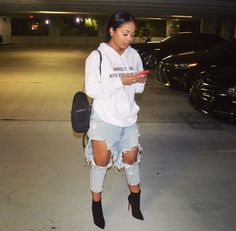 Relaxed yet fly. My type of outfit! Outfits Otoño, Dope Outfits, Fall Outfits, Casual Outfits, Fashion Outfits, Womens Fashion, Casual Jeans, Fashion Fashion, Tomboy Fashion