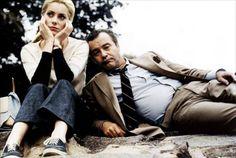 24_Catherine Deneuve and Jack Lemmon on the set of The April Fools directed by Stuart Rosenberg, 1968.
