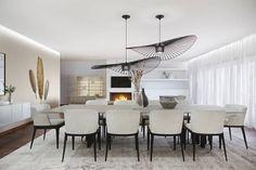 SALA DE JANTAR: Salas de jantar modernas por DZINE & CO, Arquitectura e Design de Interiores