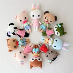 At the Gingermelon Etsy shop you'll find easy doll and toy patterns as well as the sewing supplies you'll need to create them. How cute is the My Sweet Pony pattern? I'd love to make on…