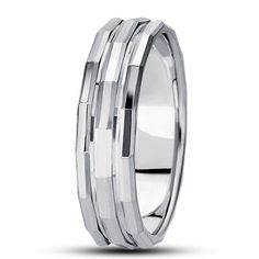 FANCY CARVED WEDDING BAND. Find it at Hayman Jewelry Co.