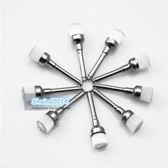 500Pcs Dental Prophy Brush White Nylon Bowl Shape Polishing Brush 100pcs/bag #Shaind2014