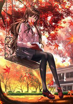 Anime Girl Cute Art Kawaii Beautiful
