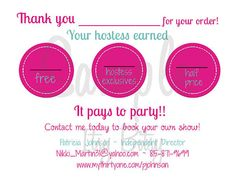 Another 31 idea...Customized Printable Thank You Postcard