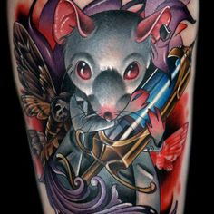 Tattoo by Kelly Doty