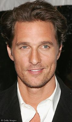 Matthew McConaughey, you're getting older, but you're still hot. Keep up the good work