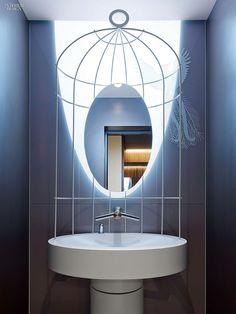 Lofty Ambitions: Ippolito Fleitz Transforms a Frankfurt Office Tower   Projects   Interior Design #bath