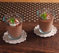 紅茶のチョコレートプディング