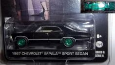 green Hollywood GreenLight supernatural sam and dean 1967 Chevy Impala SS chase