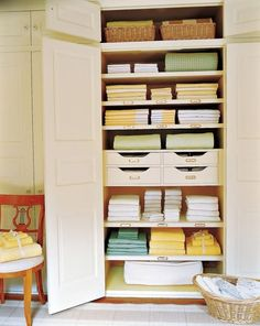 5 Easy Ways to Organize Your Linen Closet   InStyle