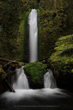 Gorton Creek Falls by Steven Michael