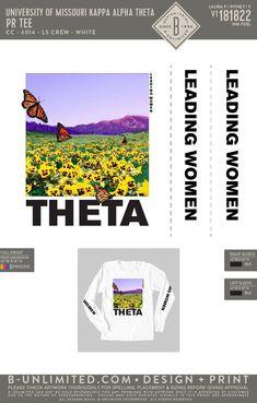 University of Missouri Kappa Alpha Theta Butterfly PR Shirt | Sorority Event | Greek Event #kappaalphatheta #theta #kao #kat #gotheta #thetapr #um
