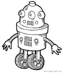 171 meilleures images du tableau le robot | Coloriage, Robot et Coloriage robot