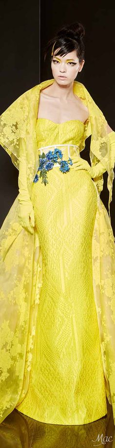Spring 2016 Haute Couture Yolan Cris Evening