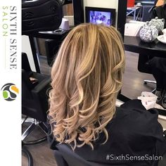 Natural Highlights by Creative Director Anthony  Check out more of our work here: http://www.sixthsensesalon.co.uk/pictures-and-videos/womens-hair-before-after/?utm_content=buffere3bed&utm_medium=social&utm_source=pinterest.com&utm_campaign=buffer  #StylistsDoItBetter #SixthSenseSalon #SuttonColdfield #Birmingham #highlights #blondehair #hair #haircolour