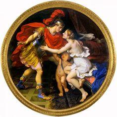 Nicolas Mignard - Mars and Venus.