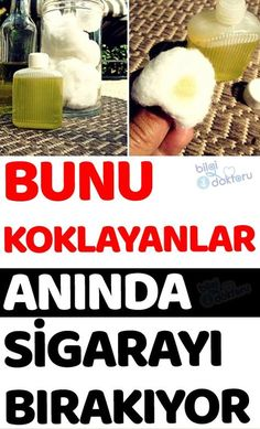 Definitely try this method. Just a few drops of cigarettes . Sadece birkaç damlası sigarayı bıraktırıyo… Definitely try this method. Just a few drops of it stop smoking … - Home Health, Health And Wellness, Health And Beauty, Health Fitness, Herbal Cure, Herbal Remedies, Natural Remedies, Flu B, Oils For Sinus